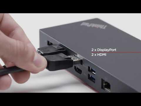 Lenovo ThinkPad Hybrid USB-C with USB-A Dock- US (40AF0135US)