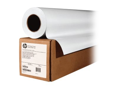 HP - Glossy - permanent adhesive - 121 micron - white - Roll (60 in x 300 ft) - 150 g/m² - 1 roll(s) vinyl - for HP DesignJet L26500, L28500; Latex 280, 330, 360