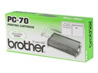 Picture of Brother PC70 - 1 - black - print ribbon (PC70)