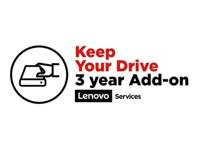 Lenovo ePac Keep Your Drive Service - Garantiforlængelse - 3 år - for ThinkPad L440; L450; L540; T420; T440; T450; T540; T550; W54X; W550; X220; X240; X250