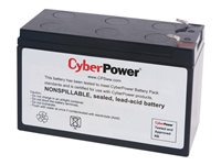 CyberPower RB1270A UPS battery 1 x lead acid 7 Ah for Office Seri