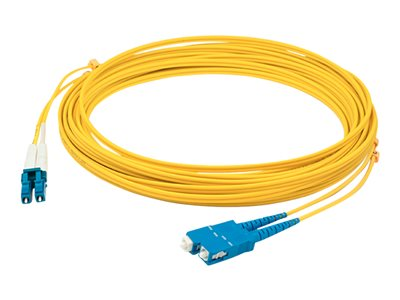 AddOn 10m LC to USC OS1 Yellow Patch Cable Patch cable