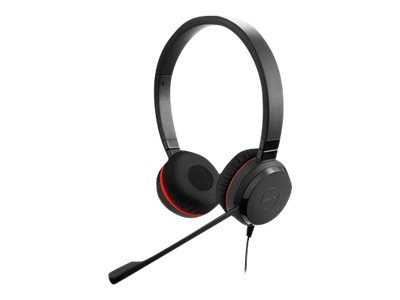 JABRA EVOLVE 20 MS STEREO SE STEREO MS LEATHERETTES