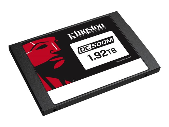"""Kingston Data Center DC500M - Disque SSD - chiffré - 1.92 To - interne - 2.5"""" - SATA 6Gb/s - AES - Self-Encrypting Drive (SED)"""