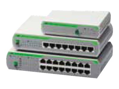 Allied Telesis AT FS710/8E - switch - 8 ports - unmanaged - rack-mountable