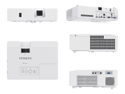 Image of Hitachi CP-EW3551WN - 3LCD projector - LAN