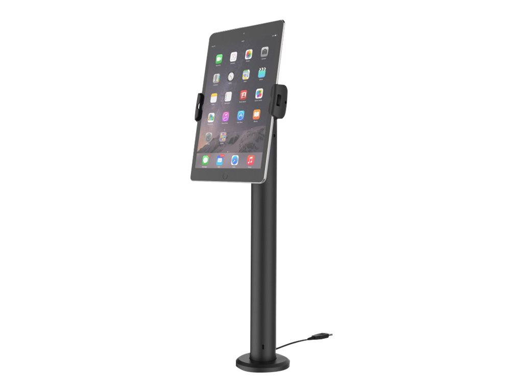 """Compulocks Cling Rise Universal Tablet Counter Top Kiosk 24"""" Black - stand"""