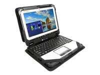 Infocase Toughmate 20 ModuFlex - Case for tablet / notebook - molded foam, PolyCore, elastic nylon - for Toughbook 20, 20 Standard