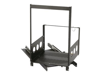 Chief ROTR-12 Rack steel, anodized aluminum black wrinkle powder co