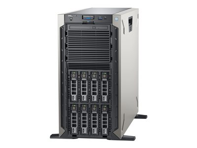 Dell EMC PowerEdge T340 Server tower 1-way 1 x Xeon E-2234 / 3.6 GHz RAM 8 GB SAS  image