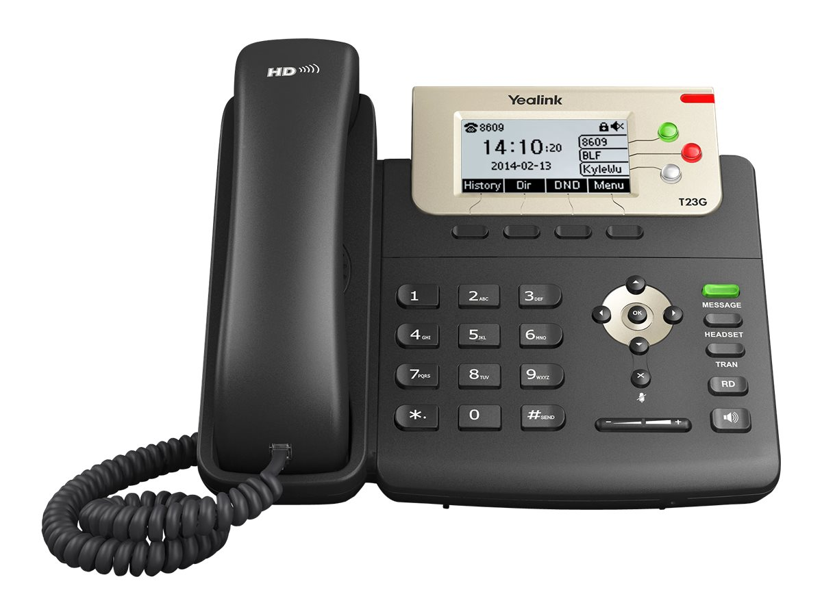 Yealink SIP-T23G - VoIP phone - 3-way call capability