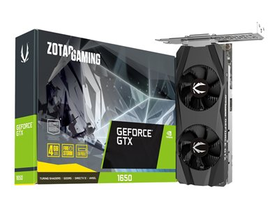 ZOTAC GAMING GeForce GTX 1650 4GB GDDR5