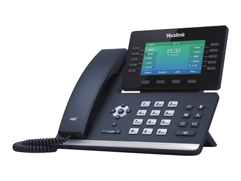 Yealink SIP-T54W - VoIP phone - Bluetooth interface with caller ID