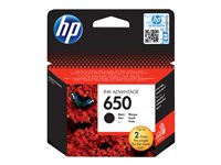 HP 650 Black Ink Cartridge EU