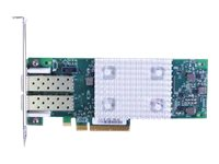 QLogic 16Gb FC Dual-Port HBA (Enhanced Gen 5) - Hostbus-Adapter - PCIe 3.0 x8 Low-Profile - 16Gb Fibre Channel x 2 - für NeXtScale nx360 M5; System x35XX M5; x3750 M4; x3850 X6; x3950 X6; Thin