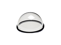 AXIS - Camera dome bubble - white, clear (pack of 5 ) - for AXIS M3025-VE Network Camera, M3026-VE Network Camera