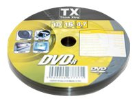 TX - DVD-R x 10 - 4.7 Go - support de stockage