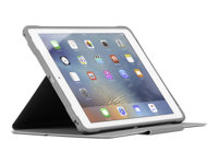 Targus 3D Protection - Flip cover for tablet - silver - for Apple 9.7-inch iPad; 9.7-inch iPad Pro; iPad Air; iPad Air 2
