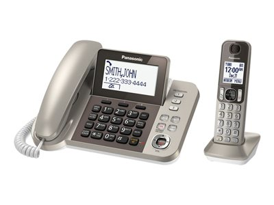 Panasonic KX-TGF350N - corded/cordless - answering system with caller  ID/call waiting