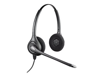 Poly SupraPlus HW261N Headset on-ear wired Quick Disconnect