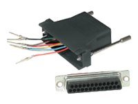 C2G RJ45 to DB25 Male Modular Adapter - serial adapter