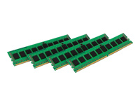 Kingston ValueRAM - DDR4 - 32 GB: 4 x 8 GB - DIMM 288-pin - 2133 MHz / PC4-17000 - CL15 - 1.2 V - registered with parity - ECC