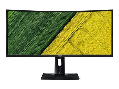 Acer CZ340CK LED monitor curved 34INCH 3440 x 1440 @ 75 Hz IPS 300 cd/m² 5 ms