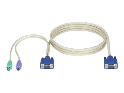 Black Box ServSwitch CPU cable - keyboard / video / mouse (KVM) cable - 3 m