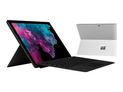 "Microsoft Surface Pro 6 - Tablet - Core i5 8350U / 1.7 GHz - Win 10 Pro - 8 GB RAM - 256 GB SSD NVMe - 12.3"" touchscreen 2736 x 1824 - UHD Graphics 620 - Wi-Fi, Bluetooth - black - commercial"