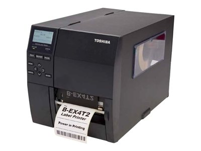 Toshiba TEC B-EX4T2 TS Label printer DT/TT 300 dpi up to 718.1 inch/min USB, LAN