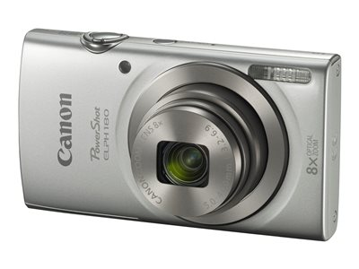 Canon PowerShot ELPH 180 Digital camera compact 20.0 MP 720p / 25 fps 8x optical zoom  image