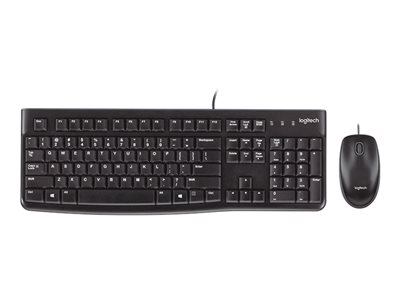 Logitech Desktop MK120 Keyboard and mouse set USB English