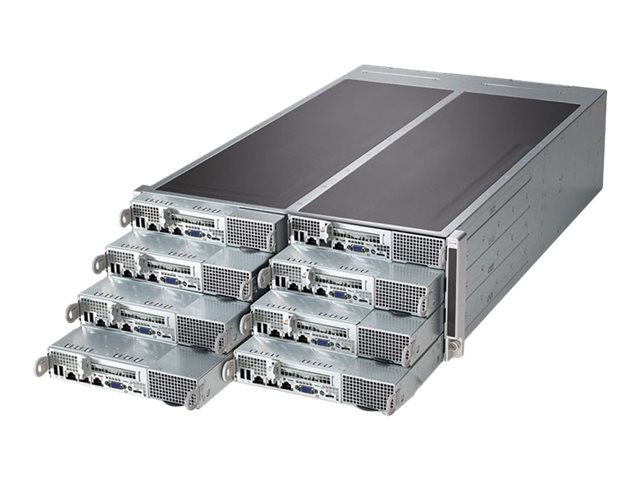 Supermicro SuperServer F618R3-FTL - rack-mountable - no CPU - 0 GB - no HDD