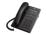 Cisco Unified SIP Phone 3905 - VoIP-Telefon - SIP, RTCP - Anthrazit
