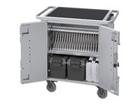 Bretford PureCharge Cart 20 Cart (charge only) for 20 tablets steel