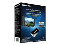 Diamond BizView BVU195 External video adapter USB 2.0 DVI, D-Sub