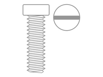 RC - Pan Head Screw - M4X10