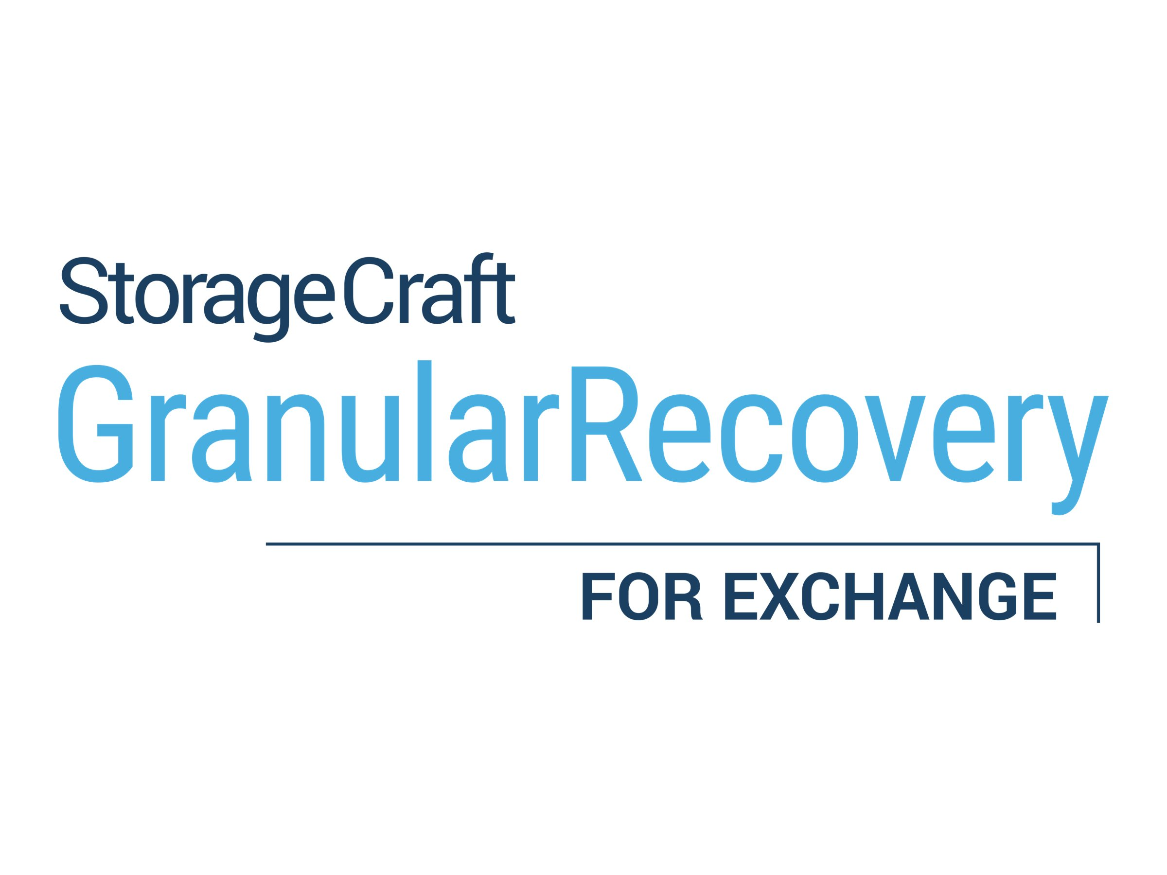StorageCraft Granular Recovery for Exchange (v. 8.x) - upgrade license + 1 Year Maintenance - unlimited mailboxes