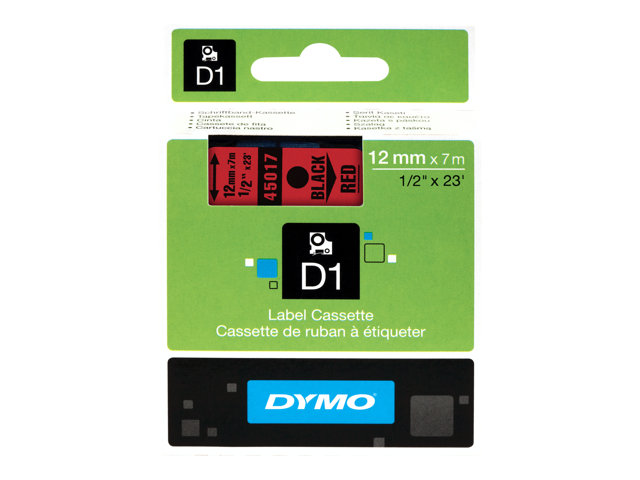 Image of DYMO D1 - labels - 1 roll(s) - Roll (1.2 cm x 7 m)