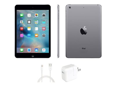 Apple iPad mini Tablet 64 GB 7.9INCH IPS (1024 x 768) black refurbished