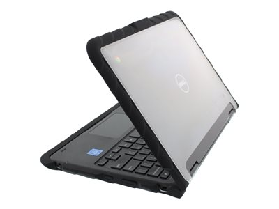 Gumdrop DropTech Series Notebook top and rear cover 11INCH black, transparent (pack of 10)