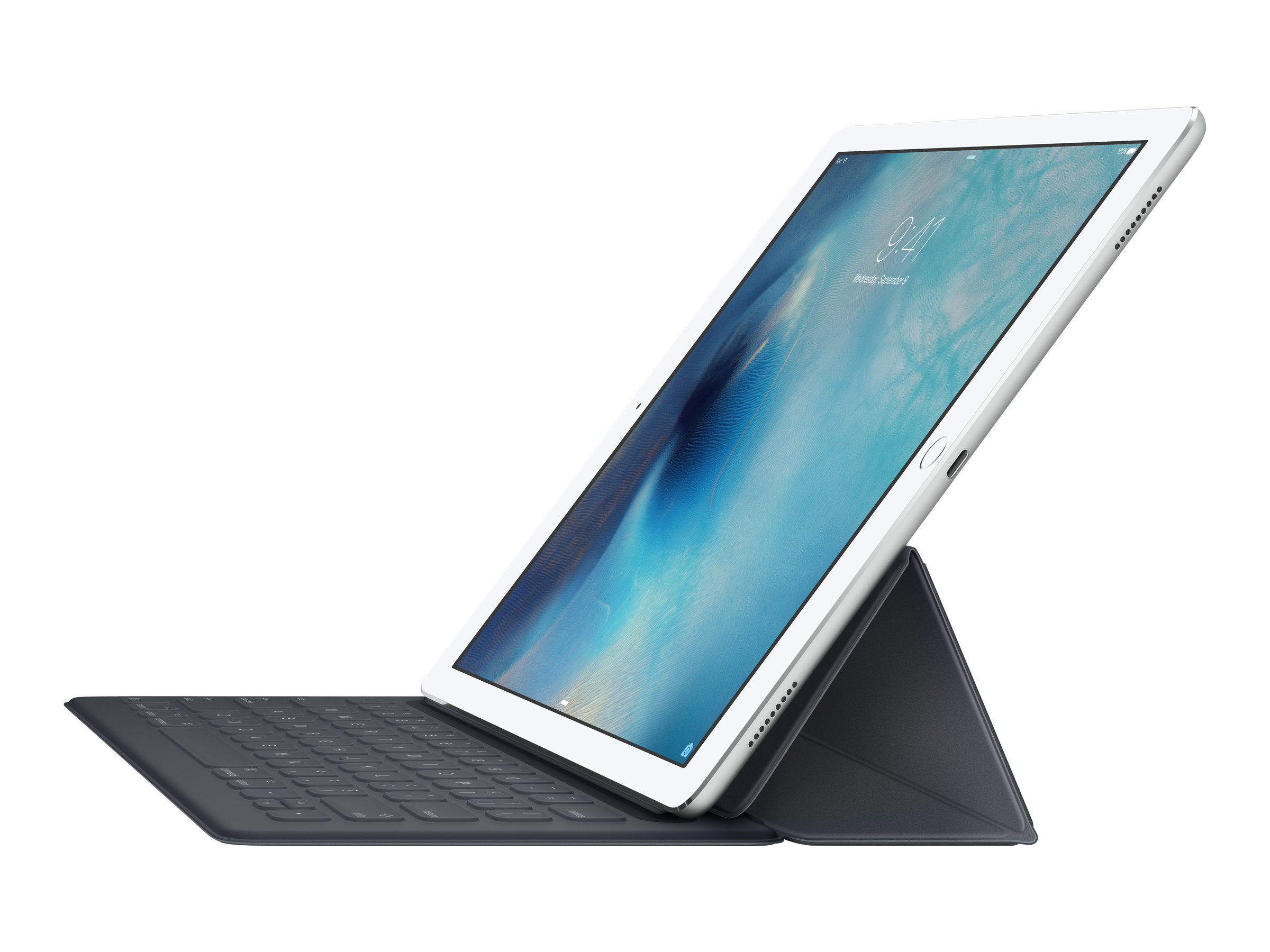 Apple Smart - Tastatur und Foliohülle - Apple Smart connector - Deutsch - für 12.9-inch iPad Pro