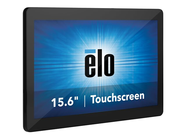 Elo I-Series 2.0 - All-in-one - Core i5 8500T / 2.1 GHz - vPro - RAM 8 GB - SSD 128 GB - UHD Graphics 630 - GigE - WLAN: 802.11a/b/g/n/ac, Bluetooth 5.0 - Windows 10 - monitor: LED 15.6