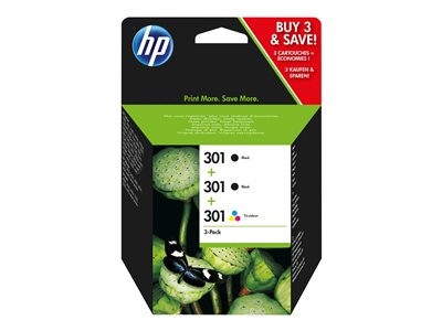 HP 301 Tri-pack Sort  tricolor