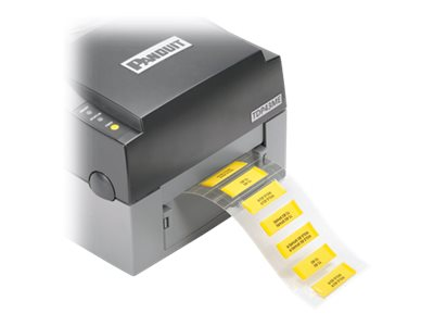 Panduit Heat Shrink Labels - labels - 1000 label(s) - 25.4 x 8.6 mm