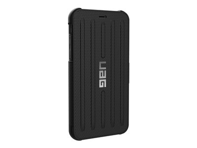 Rugged Folio Case for iPhone XR [6.1-inch screen] - Metropolis Black