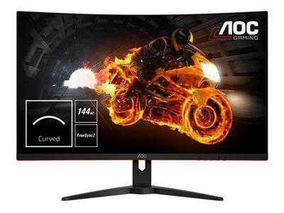 AOC C32G1 31.5' 1920 x 1080 VGA (HD-15) HDMI DisplayPort 144Hz
