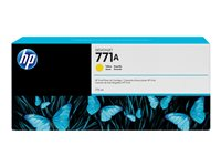 HP 771A 775 ml yellow original DesignJet ink cartridge