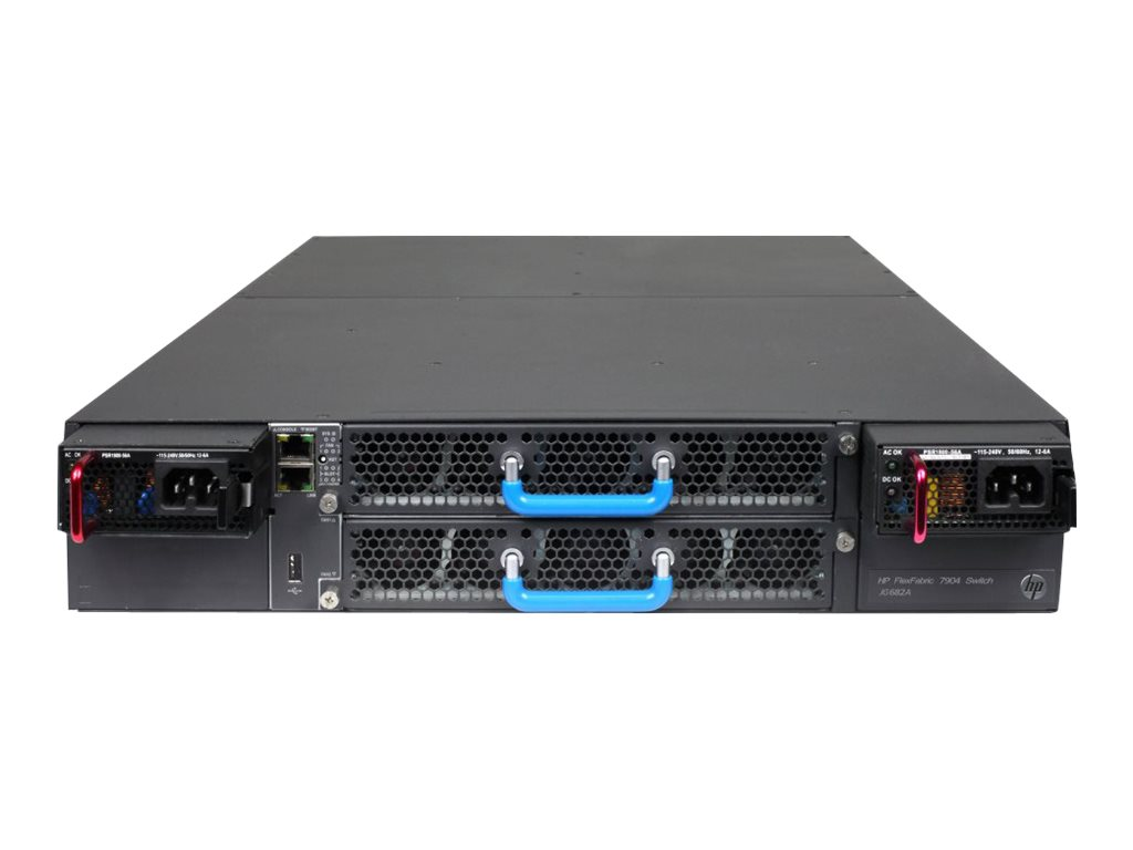 HPE FlexFabric 7904 Switch Chassis - switch - managed - rack-mountable