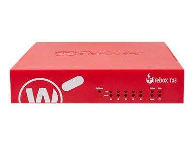 WatchGuard Firebox T35-W Security appliance with 1 year Total Security Suite 5 ports GigE